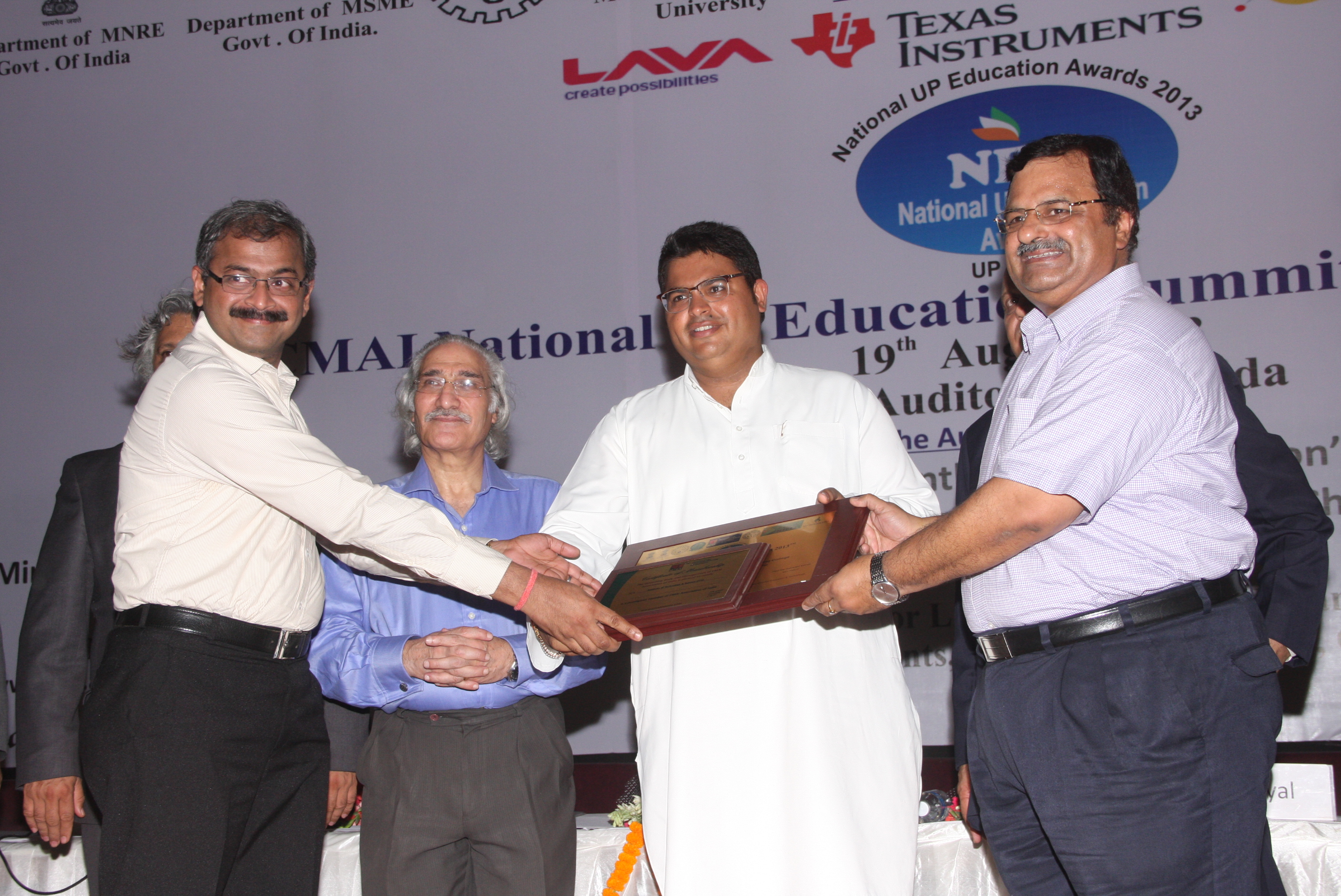 CMAI National UP Education Award 2013