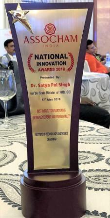 Best Institution Nurturing Entrepreneurship & Empl