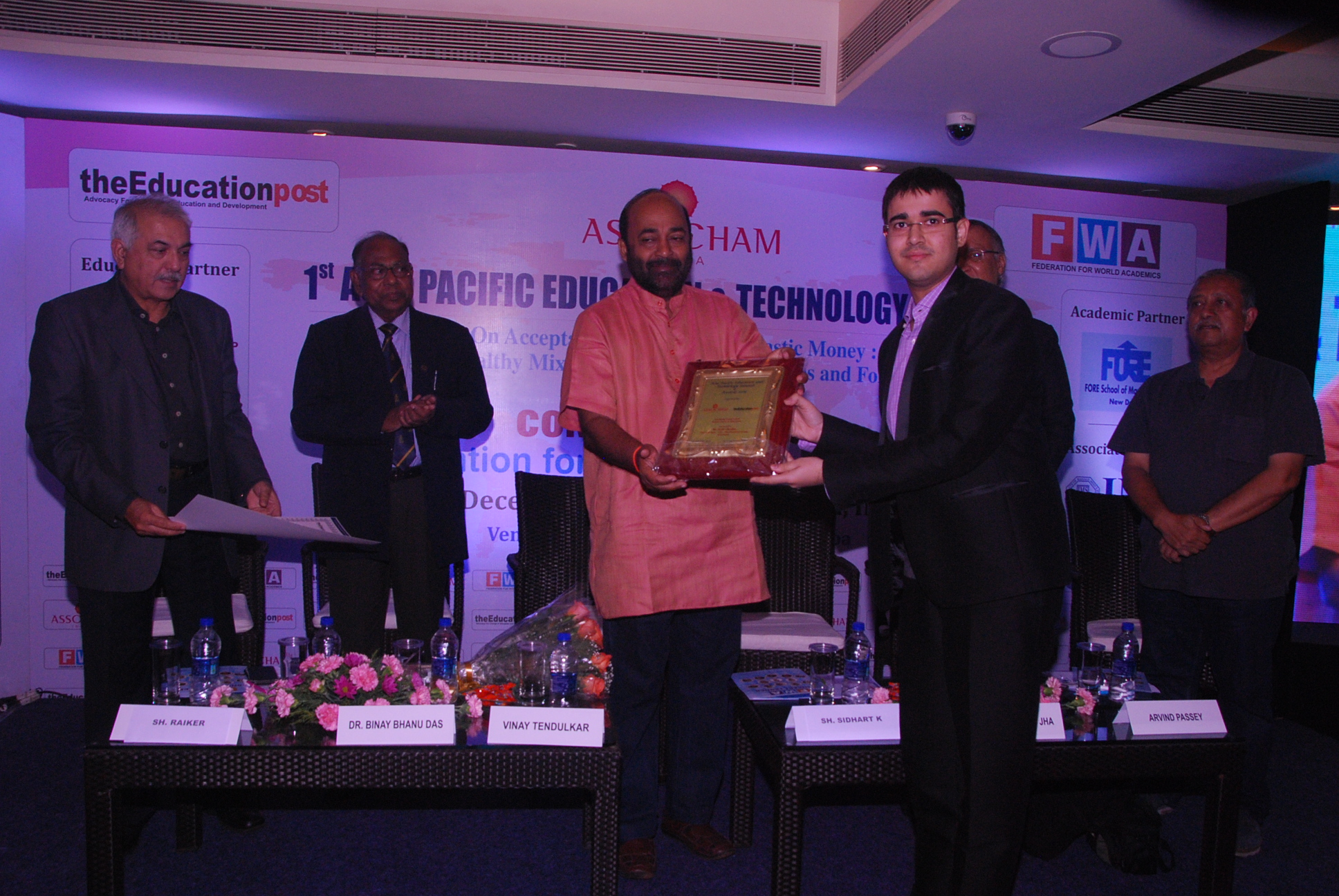 Best Academic Campus in North India for PG Management Programme by ASSOCHAM – 2016