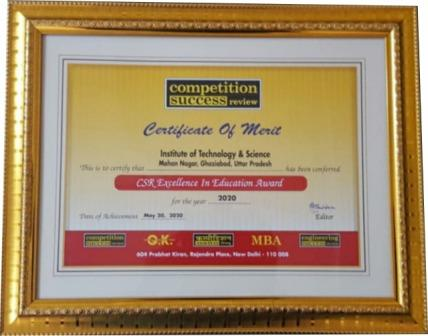 """CSR - Excellence in Education Award 2020"""