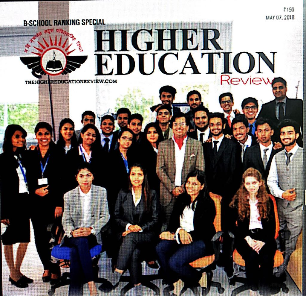 44th Among Top B Schools in India by Higher Educat
